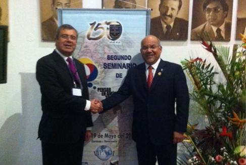 Rector invitado a jornadas de análisis en Venezuela
