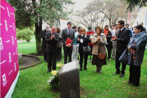 En memorial recordaron a alumnos y profesores