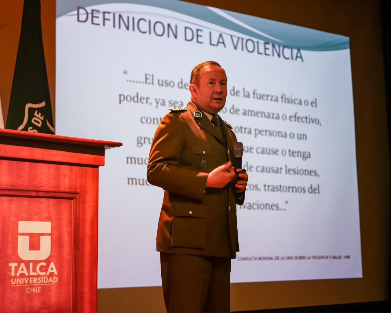 UTALCA y Carabineros inician trabajo conjunto de prevención de violencia intrafamiliar