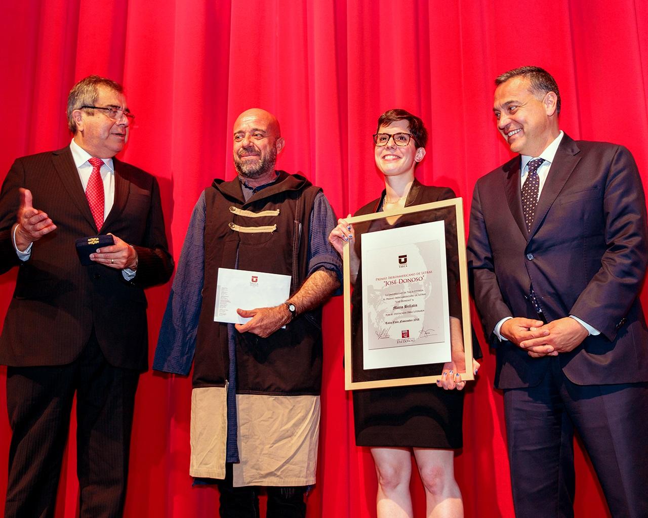 UTALCA abre postulaciones al Premio Iberoamericano de Letras José Donoso 2019