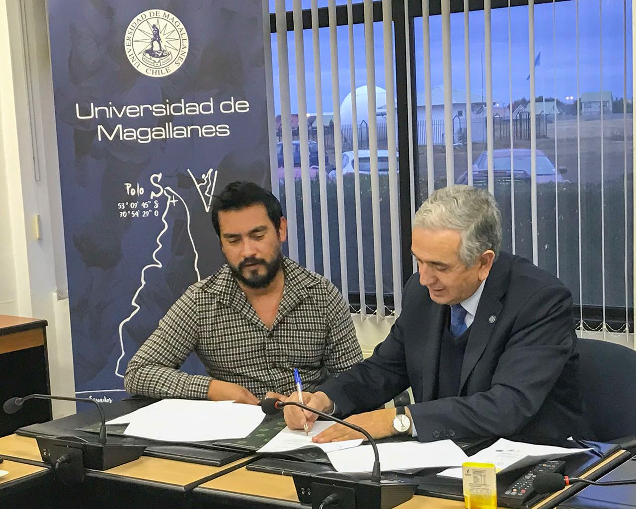 Universidades de Talca y de Magallanes firman convenio de colaboración en ingeniería