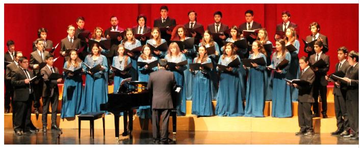 Concierto Coro de la Universidad de Talca
