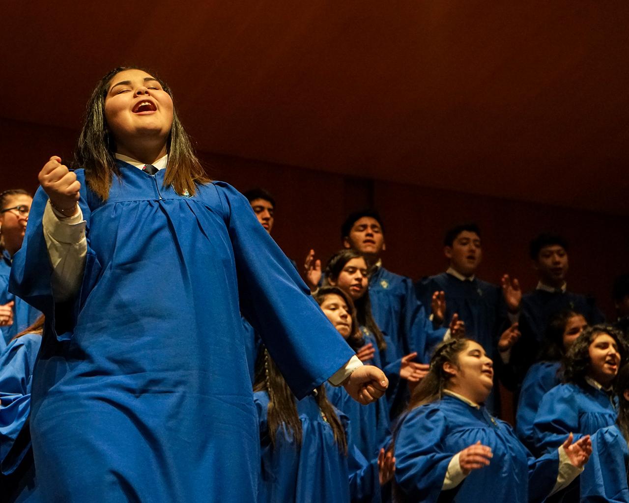 V Encuentro de Coros del Maule: el canto nos hermana