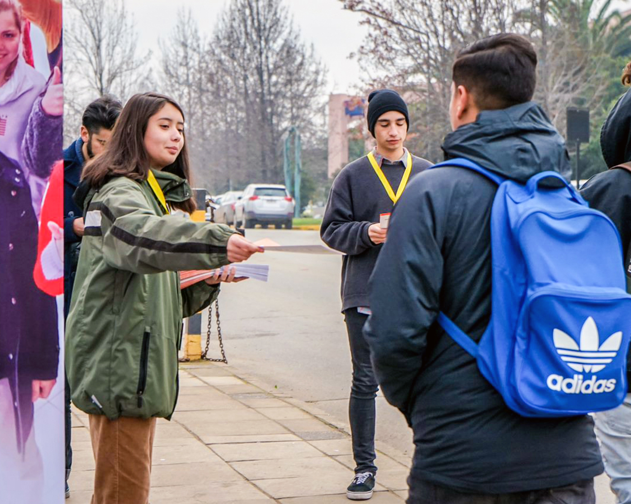 Alumnos motivan participación en Reforma Estatutaria