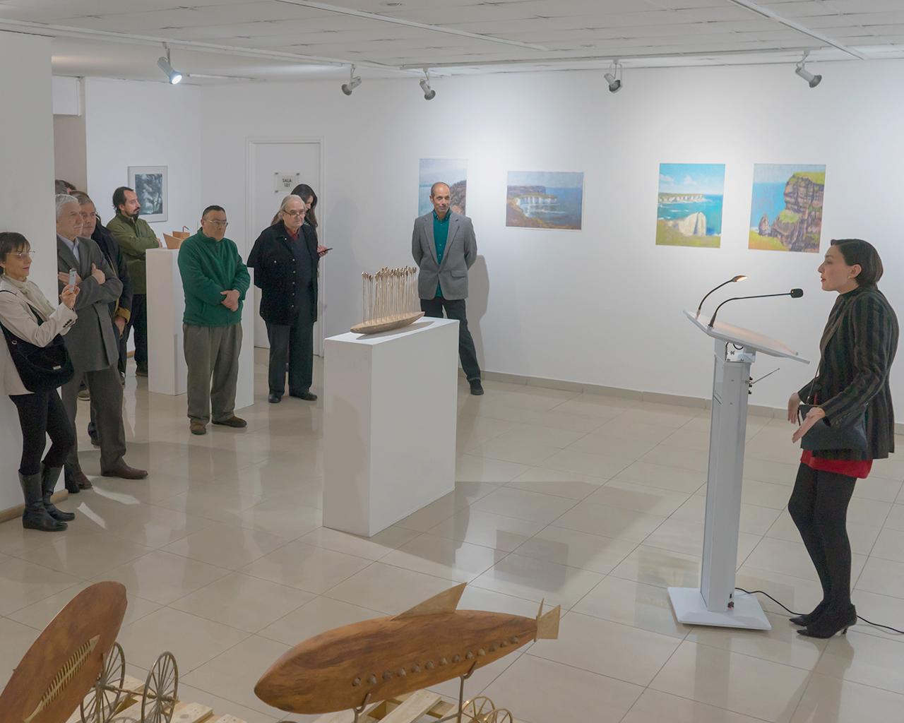 Exposición inspirada en mares del sur llega a Campus Santiago