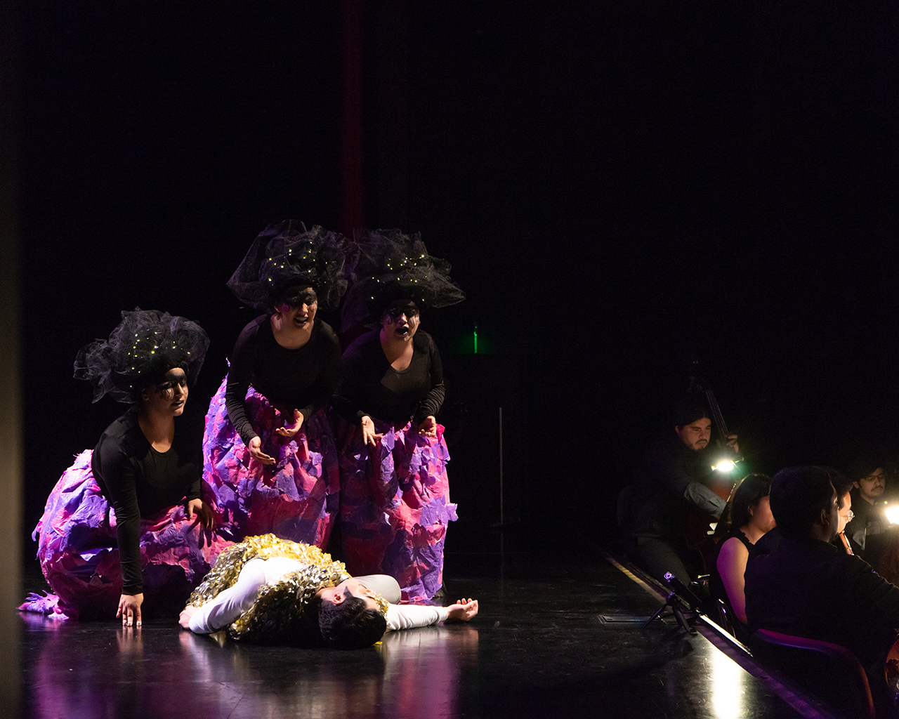UTalca estrenó versión propia de la ópera 'La flauta mágica' de Mozart