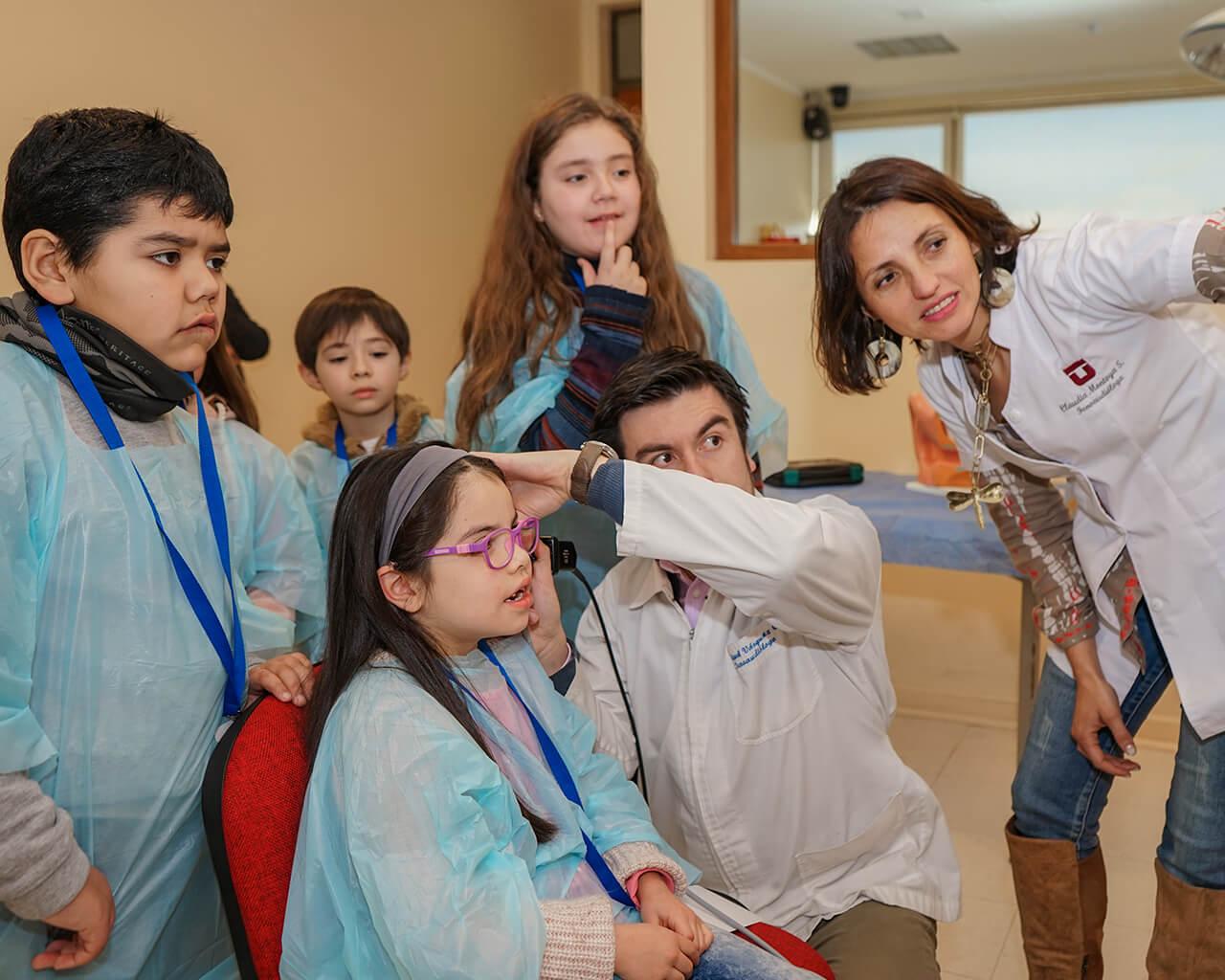 """""""Juega Salud"""" convocó a decenas de niños en la UTalca"""
