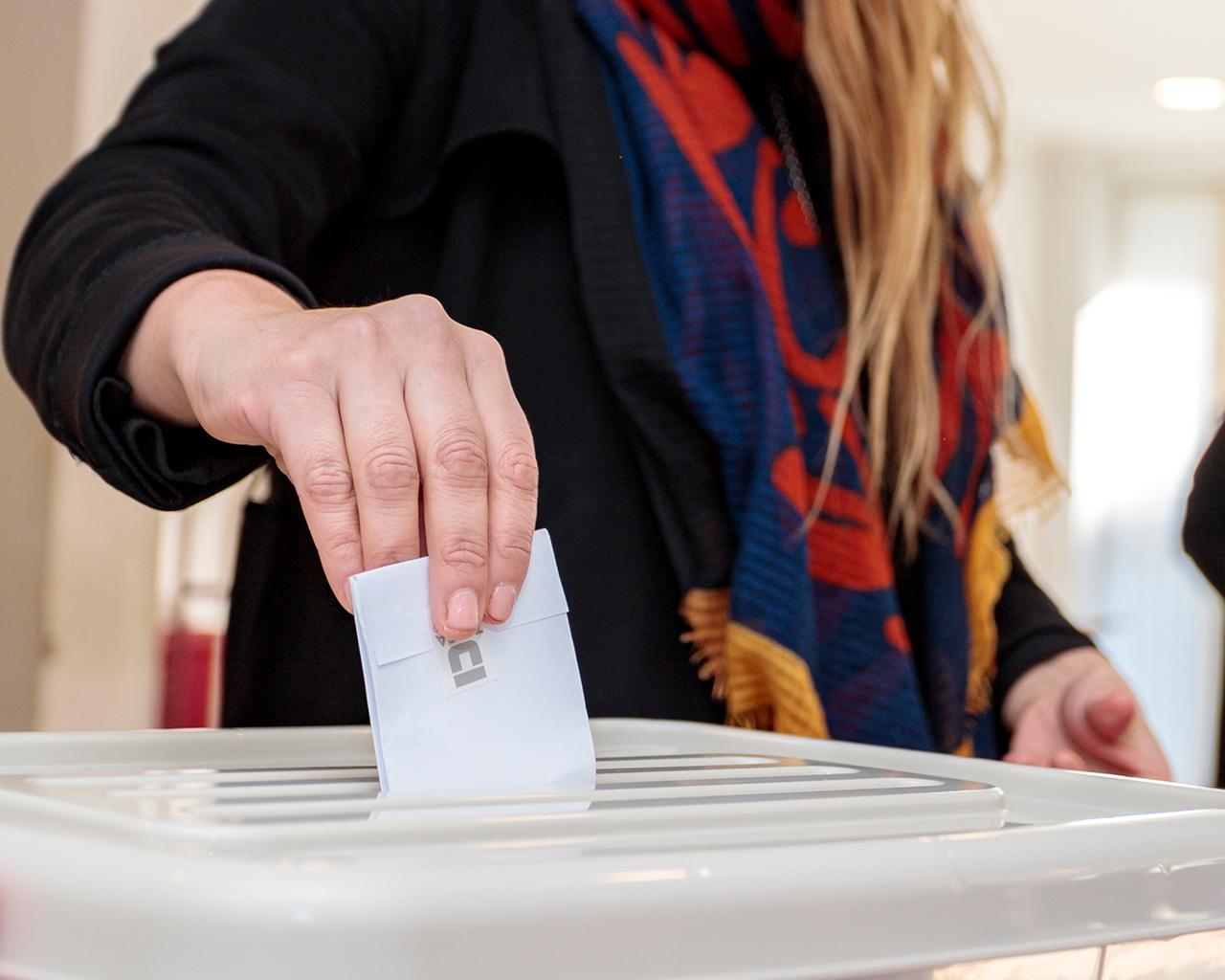 Masivo acto electoral: 62,5% de participación de la comunidad universitaria