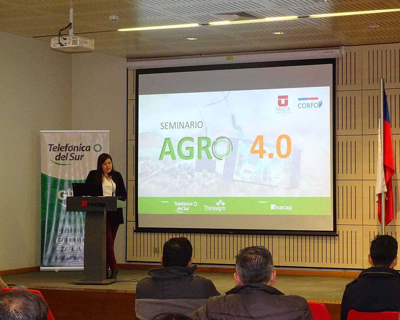 Seminario Agro 4.0 apuntó a promover la incorporación de tecnologías en el Maule