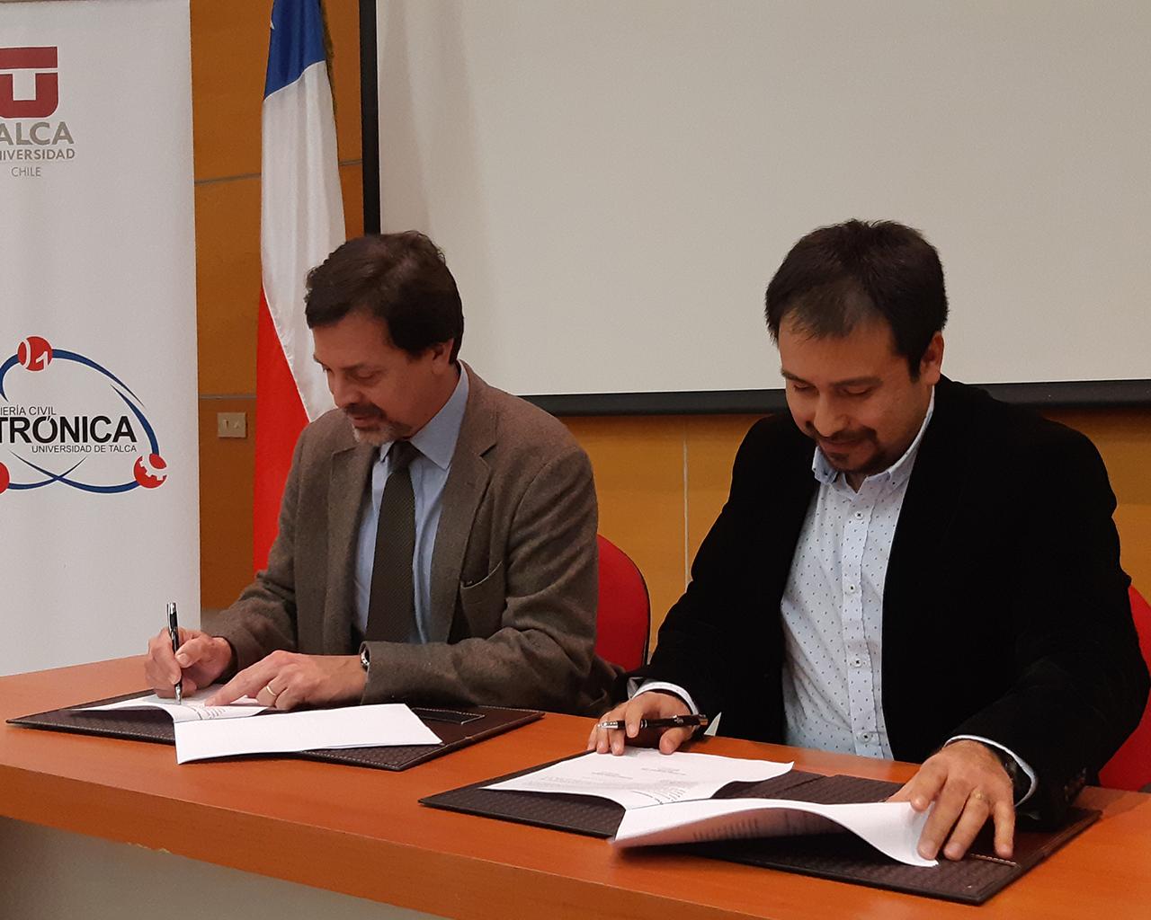 Convenio entre UTalca y Siemens fortalecerá Industria 4.0