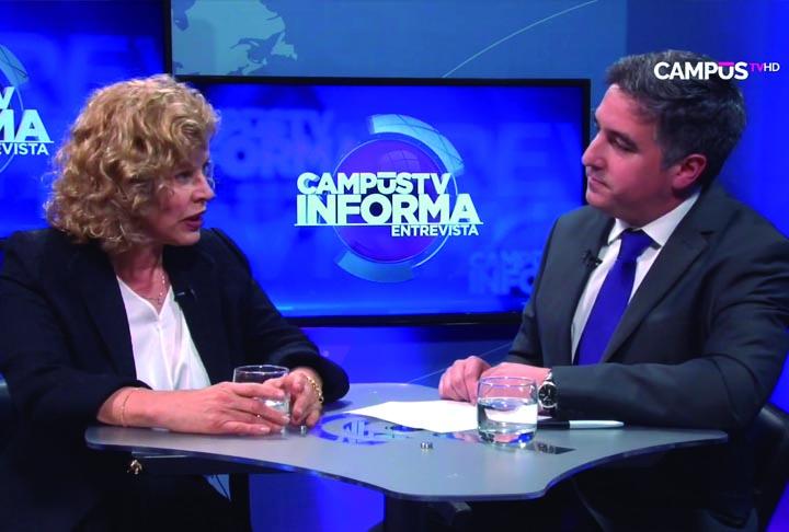Entrevista CAMPUSTV Informa: Catalina Parot, presidenta CNTV