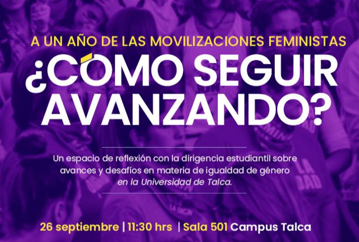 Jornada reflexiva con dirigentes estudiantiles sobre avances y desafíos en materia de igualdad de género