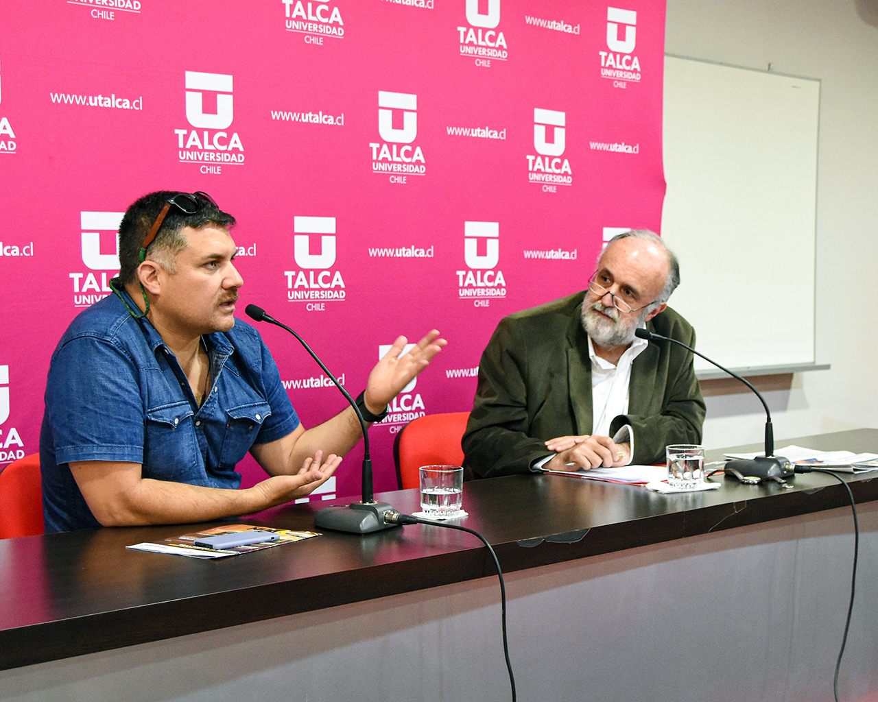 Conversatorio con dramaturgo Guillermo Calderón