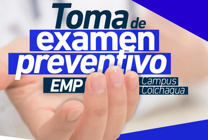 Toma de examen preventivo