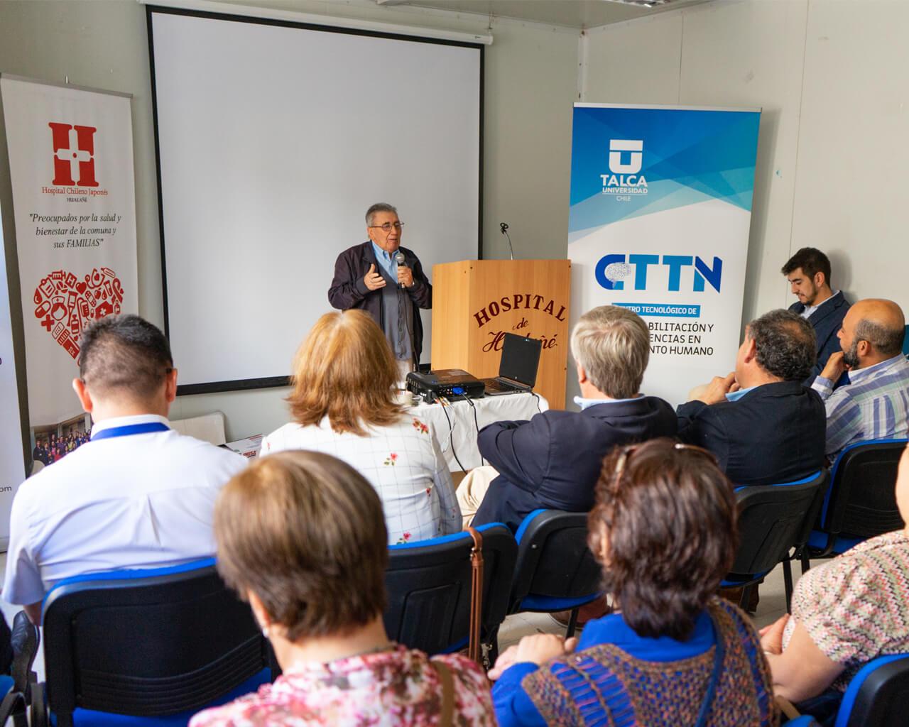 Adultos mayores de la comuna de Hualañé utilizarán terapia de telerrehabilitación de la UTalca