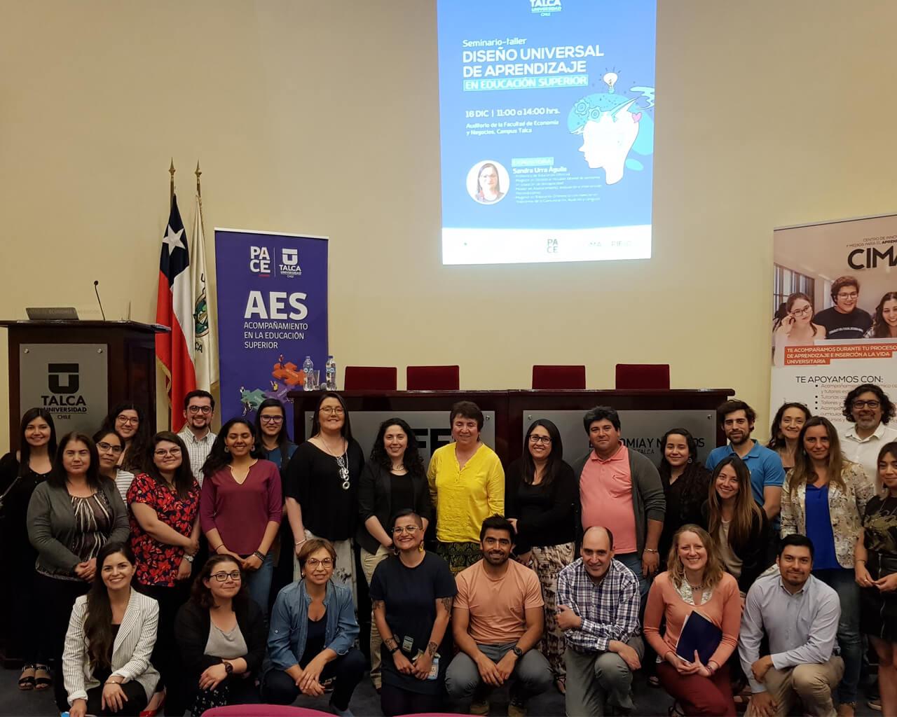 Universidad se compromete con la inclusión en seminarios y talleres