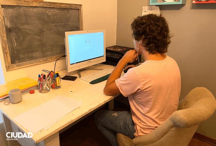 Estudio y trabajo puertas adentro
