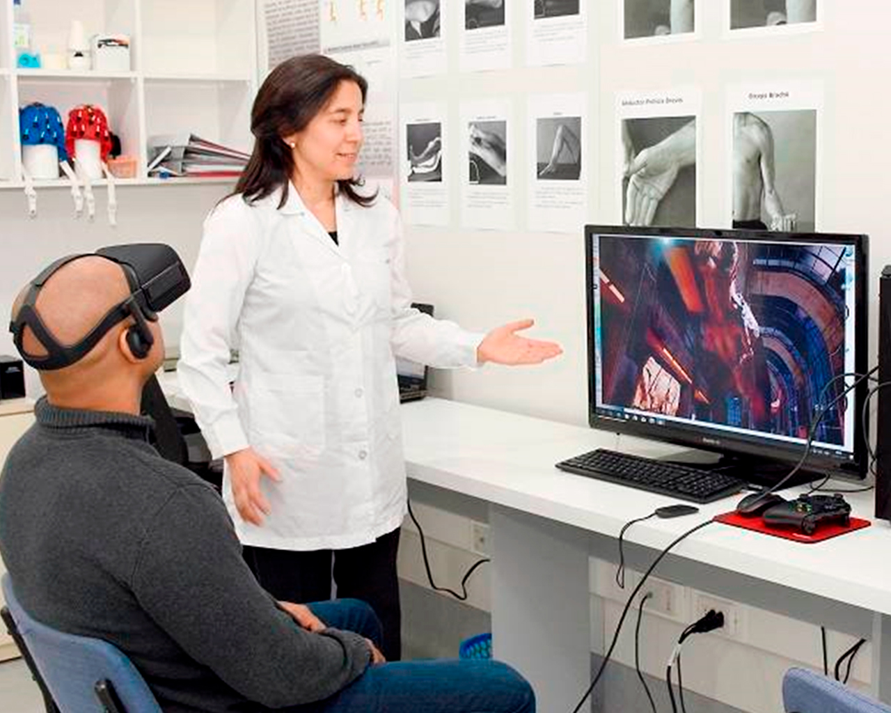 Preparan software de telerehabilitación kinesiológica
