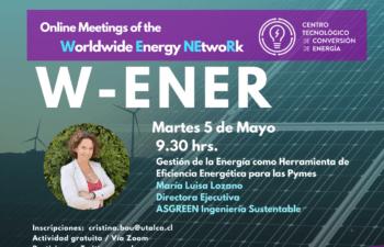 "Meeting of the Worldwide Energy NEtwoRk ""W-ENER"""