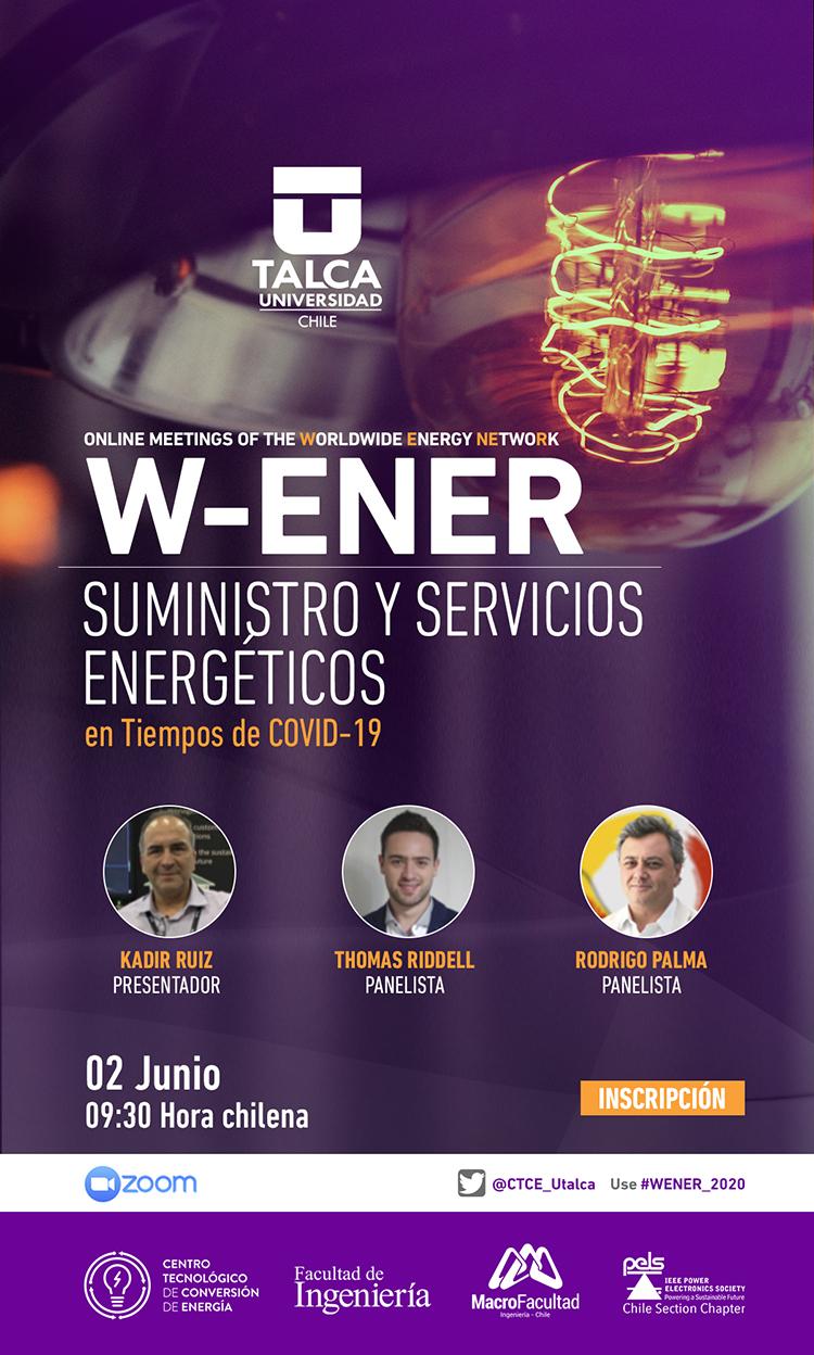 W-ENER, SUMINISTROS Y SERVICIOS ENERGÉTICOS EN TIEMPOS DE COVID-19