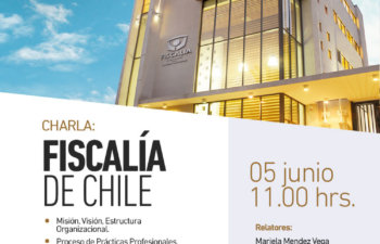 CHARLA: FISCALÍA DE CHILE