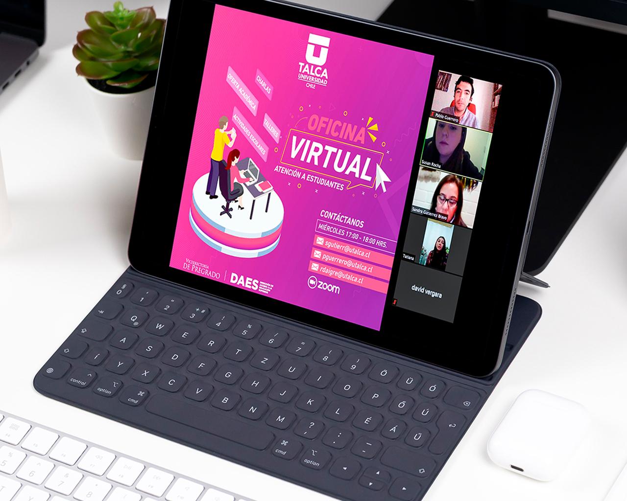 Ayudan a resolver dudas sobre admisión 2021 a través de Oficina Virtual