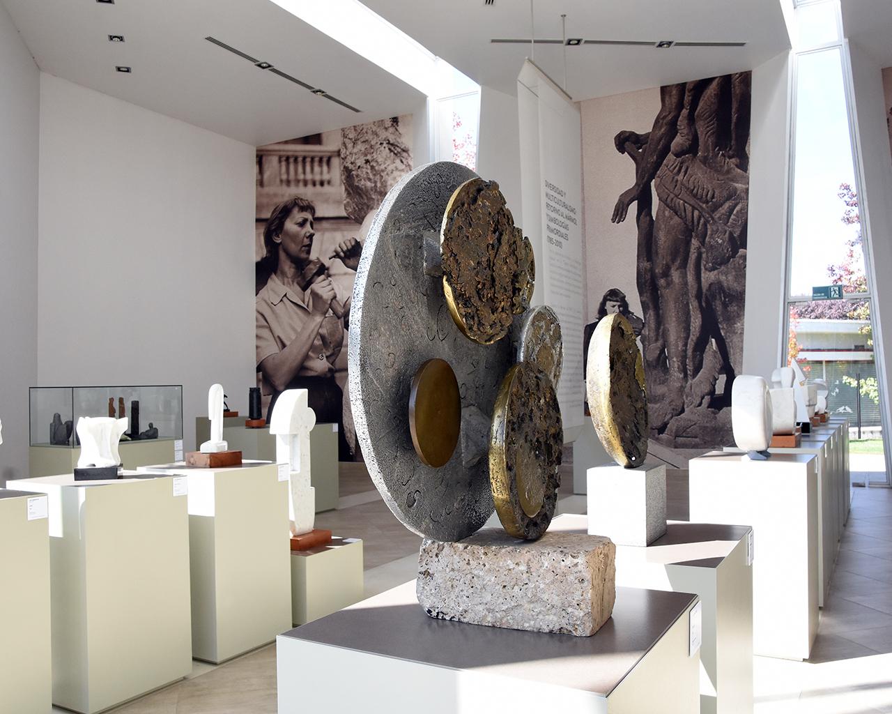 Legado de la escultora Lily Garafulic puede ser conocido a través de recorrido virtual