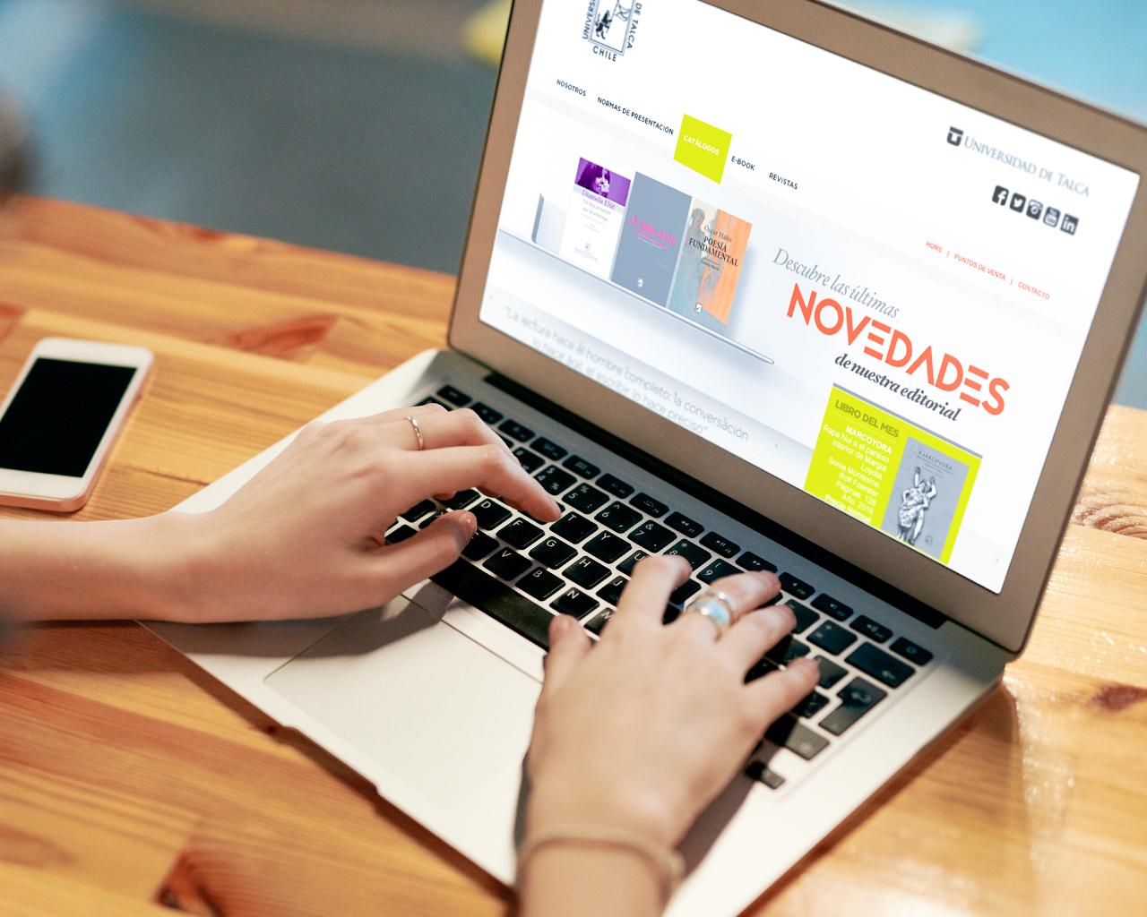 Editorial UTalca inicia campaña de venta online de su catálogo impreso  con importantes descuentos para todo público