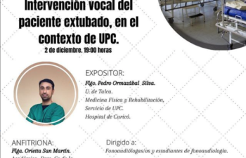 INTERVENCIÓN VOCAL DEL PACIENTE EXTUBADO, EN EL CONTEXTO DE UPC