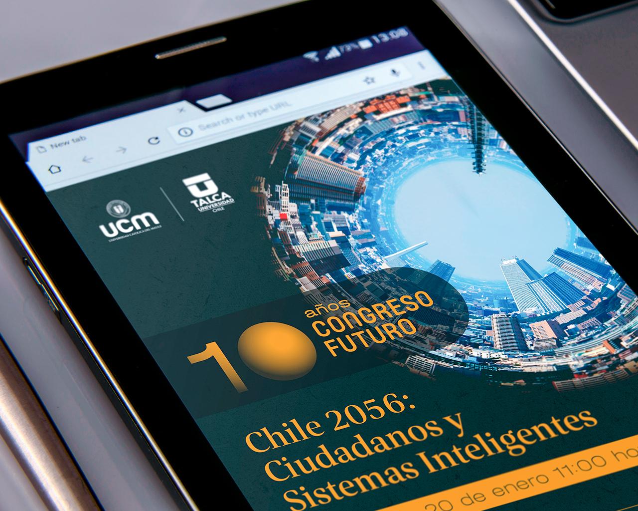Invitan al Congreso Futuro 2021 en el Maule: Chile 2056, Ciudadanos y Sistemas Inteligentes