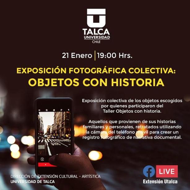 EXPOSICIÓN FOTOGRÁFICA COLECTIVA: OBJETOS CON HISTORIA