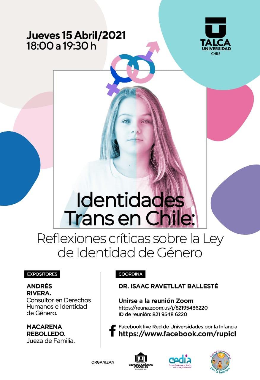 Identidades Trans en Chile: Reflexiones Críticas sobre la Ley de Identidad de Género