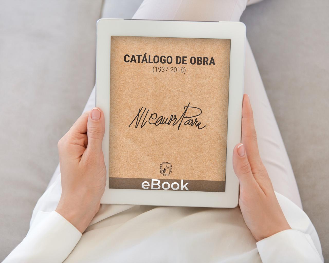 Universidad lanza e-book que reúne patrimonio editorial de Nicanor Parra