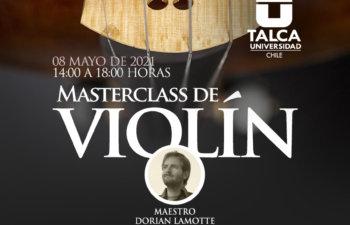 Masterclass de Violín, Maestro Dorian Lamotte