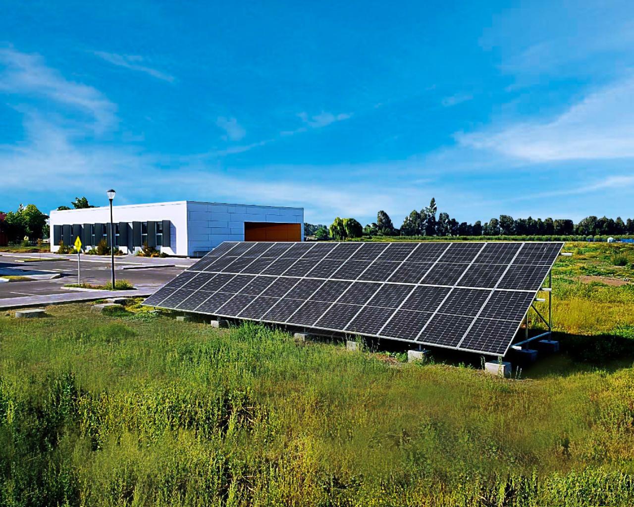 Inaugurada planta solar fotovoltaica que apoyará estudio de energías sustentables