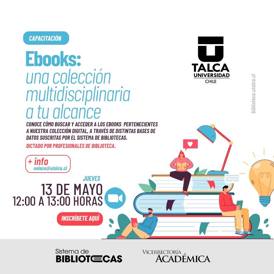 Capacitación: Ebooks, Una Colección Multidisciplinaria a Tu Alcance