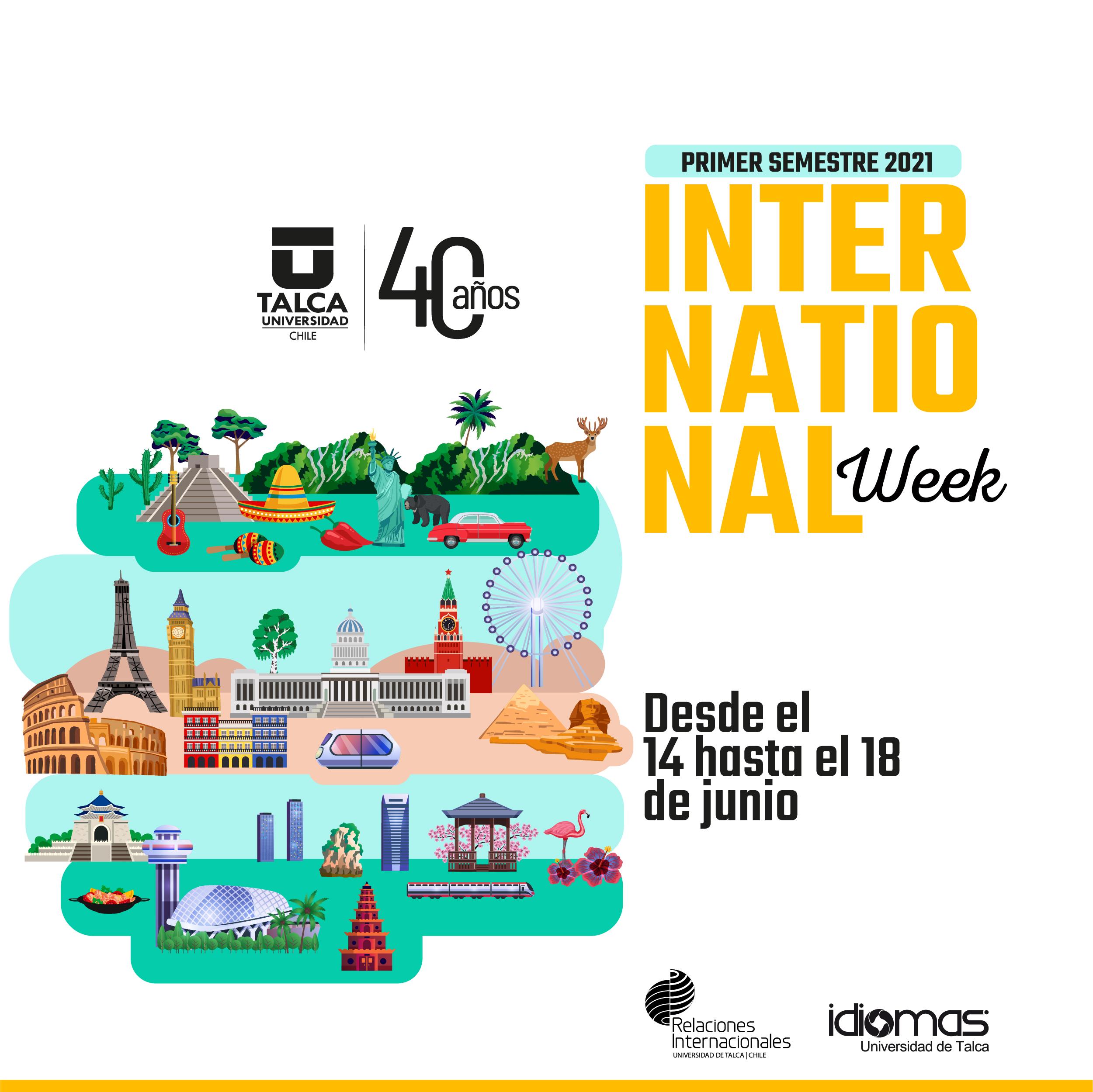 International Week, Primer Semestre 2021