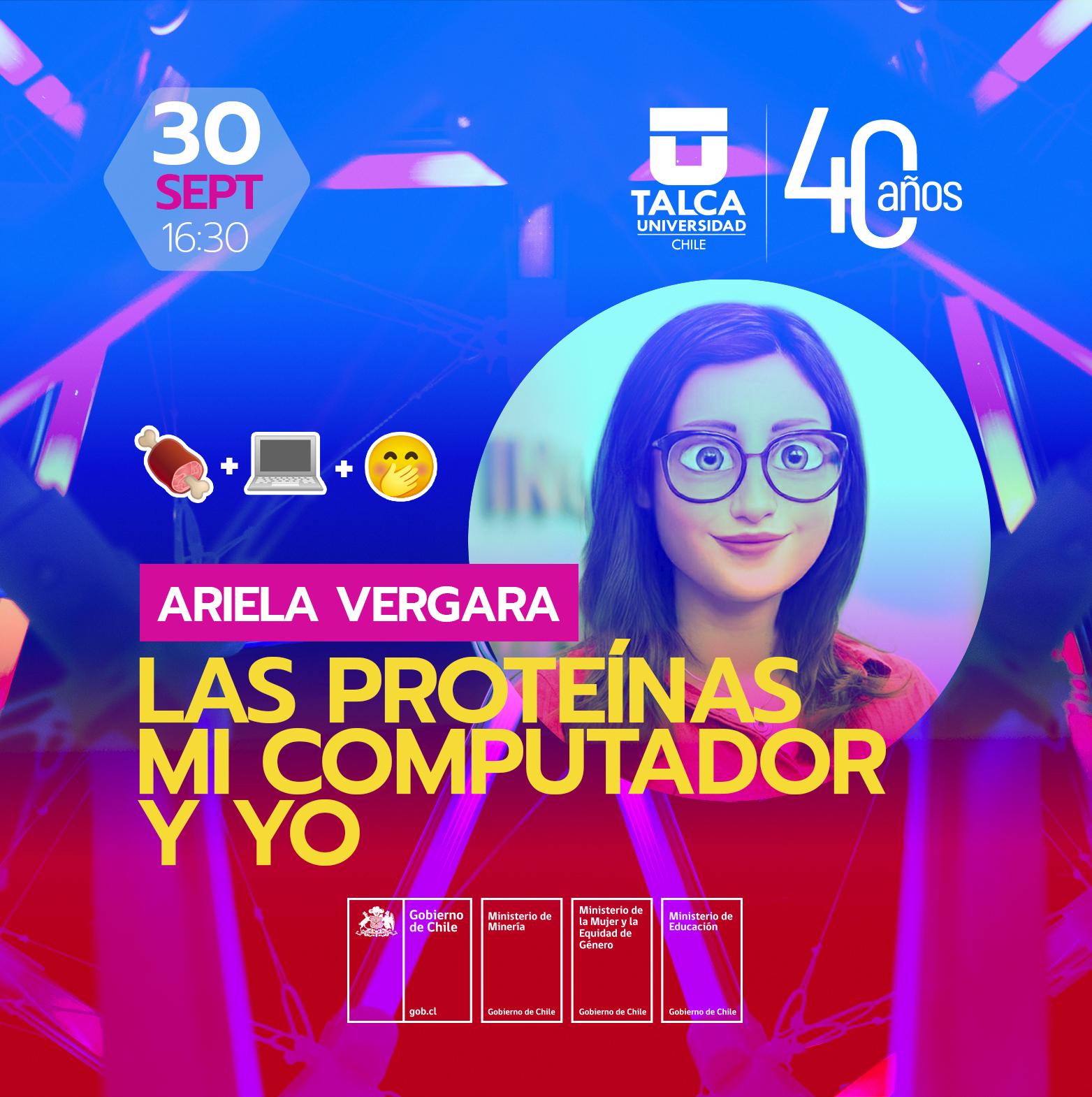 Ciclo de charlas de Mujeres Ingenieras: Las proteínas, mi computador y yo