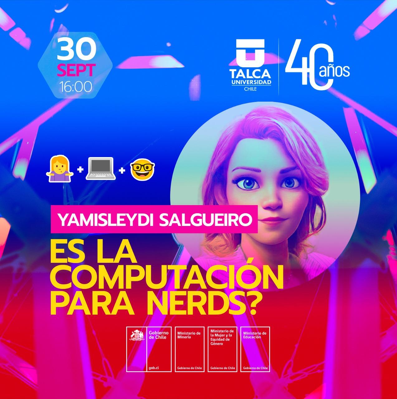 Ciclo de charlas de Mujeres Ingenieras: ¿Es la computación para nerds?