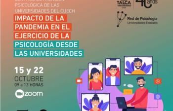 III Encuentro, Impacto de la Pandemia en el Ejercicio de la Psicología desde las Universidades