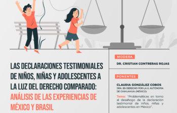 Seminario Internacional, Las Declaraciones Testimoniales de Niño, Niñas y Adolescentes a la Luz del Derecho Comparado: Análisis de las Experiencias de México y Brasil