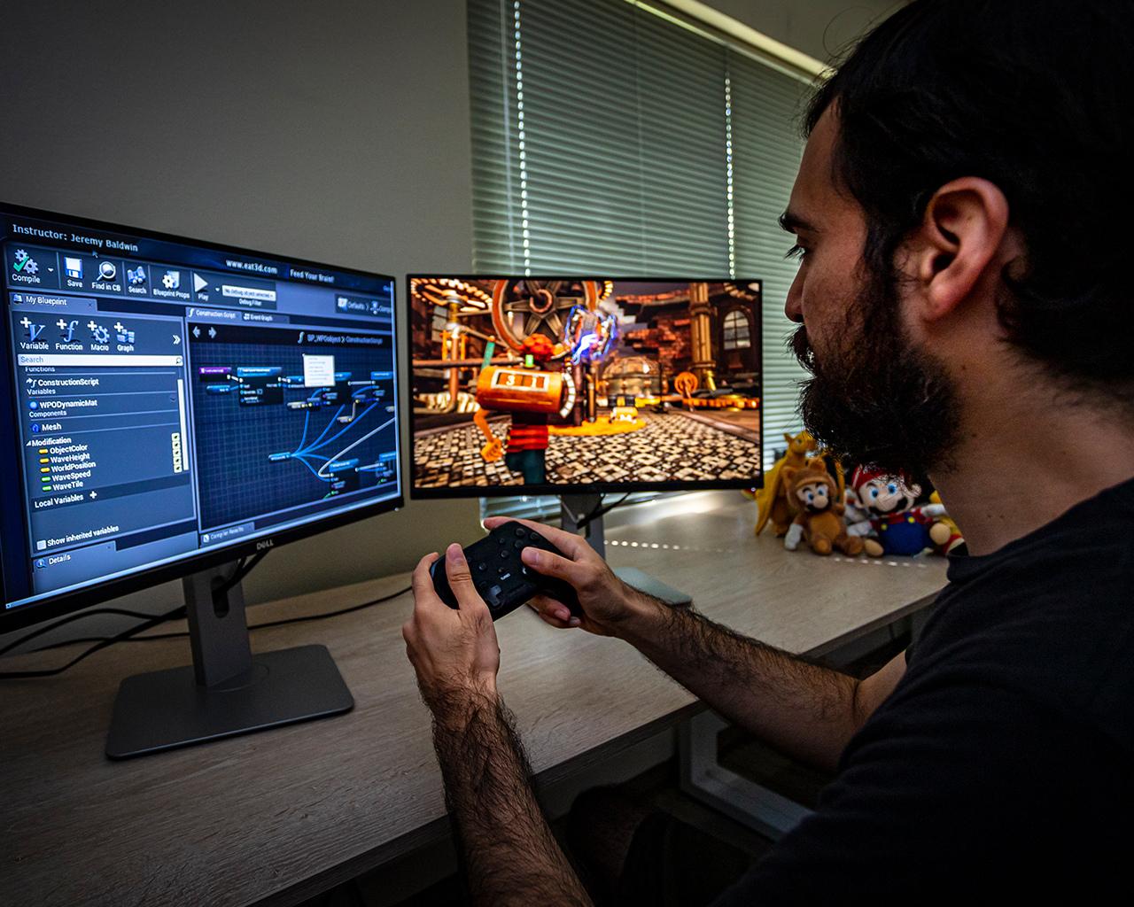Egresados de Ingeniería en Desarrollo de Videojuegos y Realidad Virtual se posicionan en la industria creativa